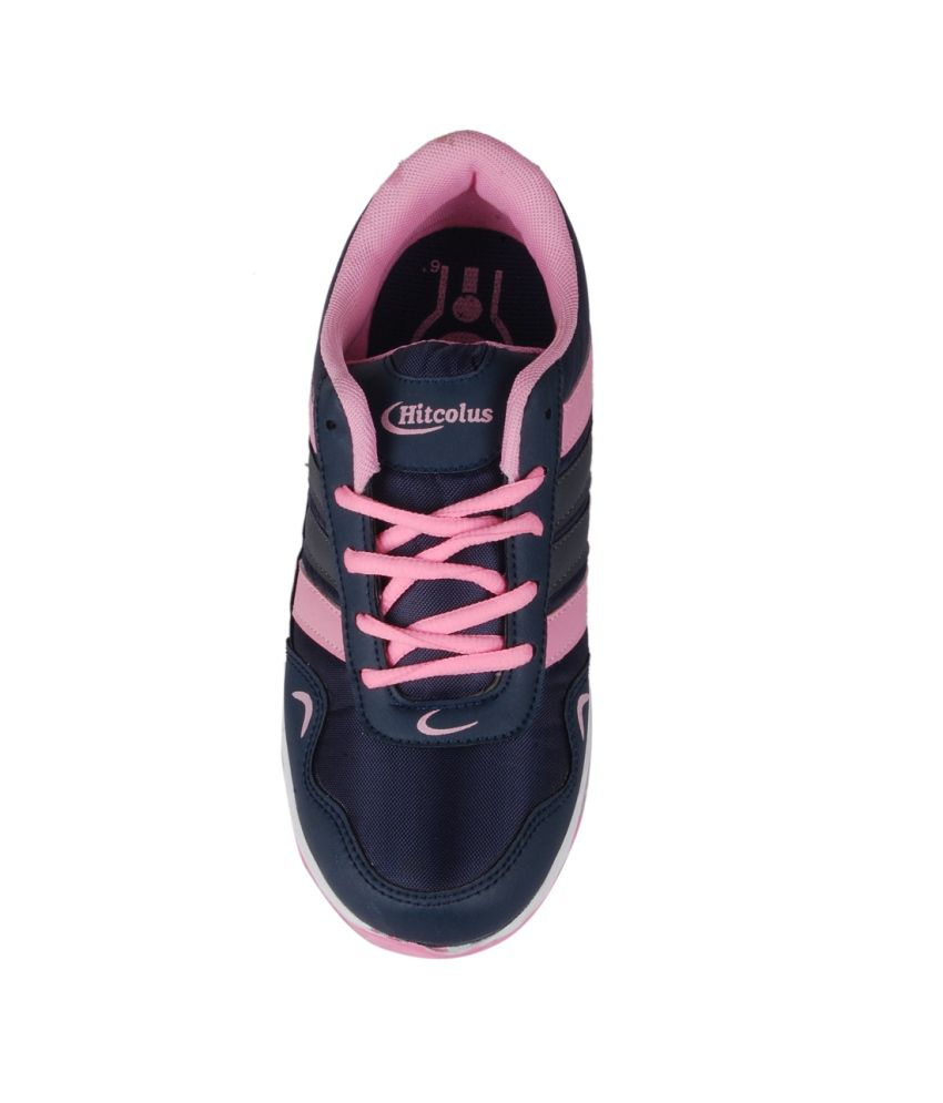 Hitcolus Pink Women Sports Shoes Price