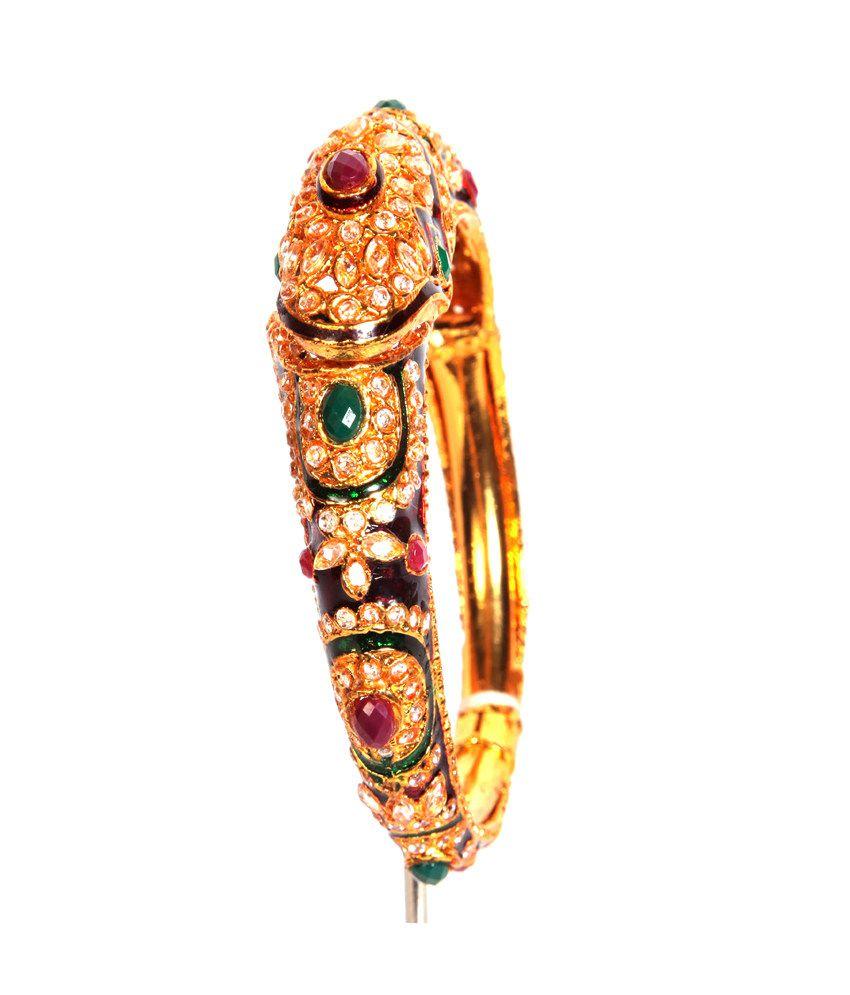 GRJ India Multicolour Traditional Festive Bangles