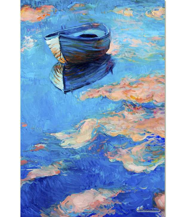 Anwesha's Gallery Wrapped Digitally Printed Canvas Wall Painting 30x20 Inch - 116