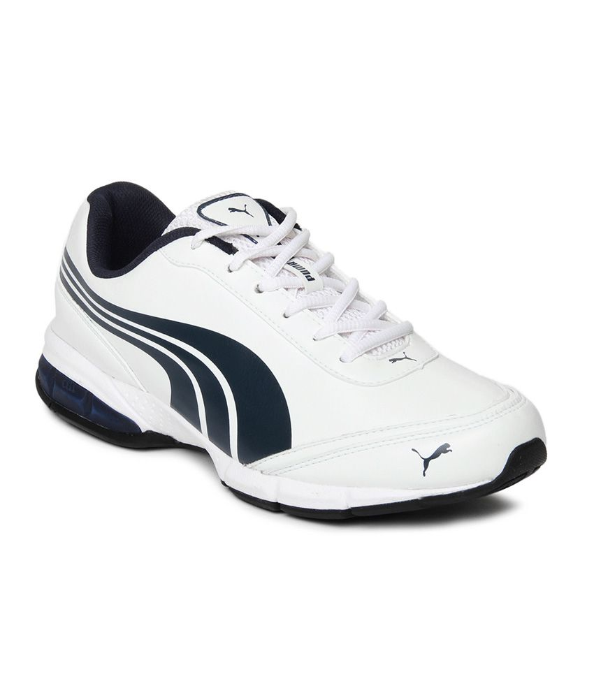 b9c7e24247ce Puma Roadstar Xt Dp White Sports Shoes Art SP18795301 - Buy Puma Roadstar  Xt Dp White Sports Shoes Art SP18795301 Online at Best Prices in India on  Snapdeal