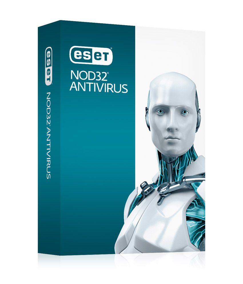 Eset Nod32 Antivirus Version 8  3 PC/1 Year