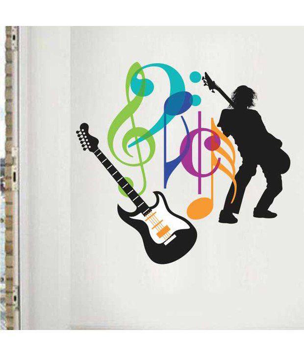Home Decor Tatoos Dance Music Wall Sticker Buy Home