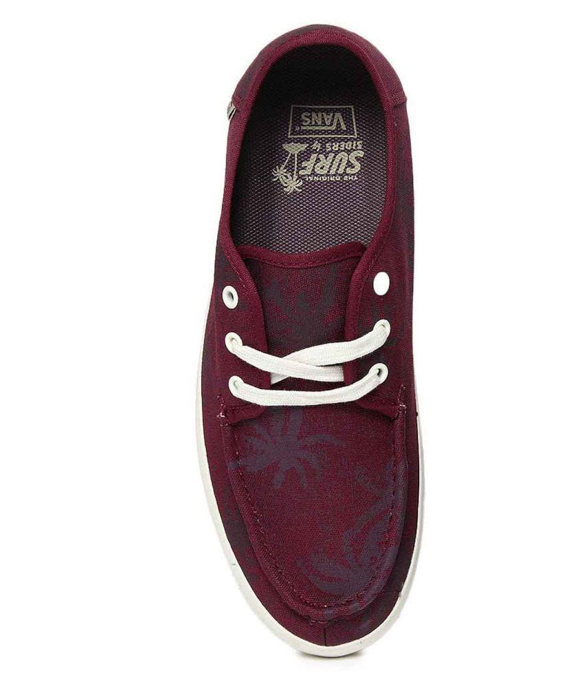 0300d49e2989b3 Vans Men Maroon Casual Shoes - Buy Vans Men Maroon Casual Shoes ...