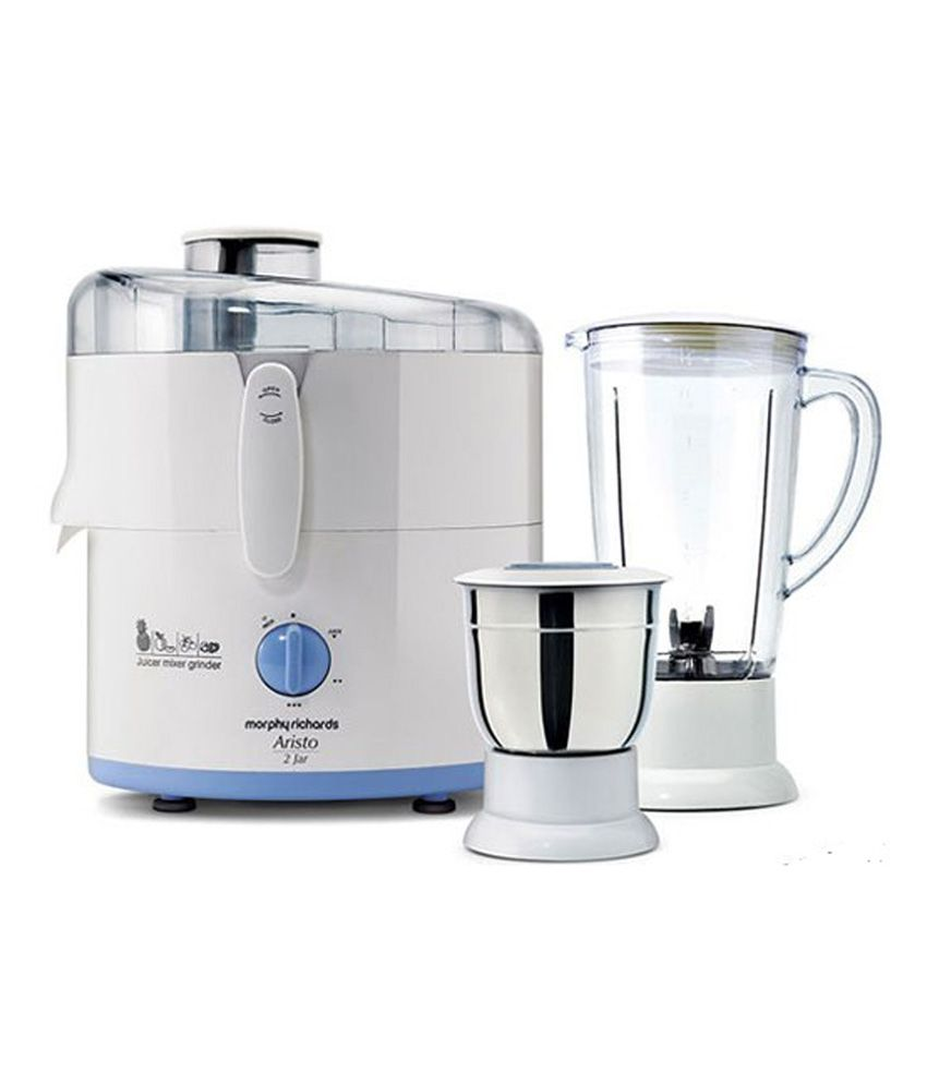 Morphy Richards Aristo 500W 2 Jar Juicer Mixer Grinder