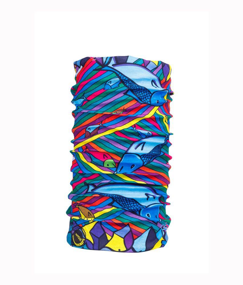 Noise Multicolor Polyester Bandanas