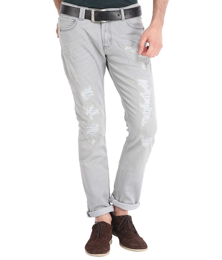 Locomotive Gray Slim Jeans