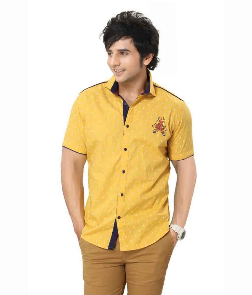 zorro designer men shirt printed slubed casual