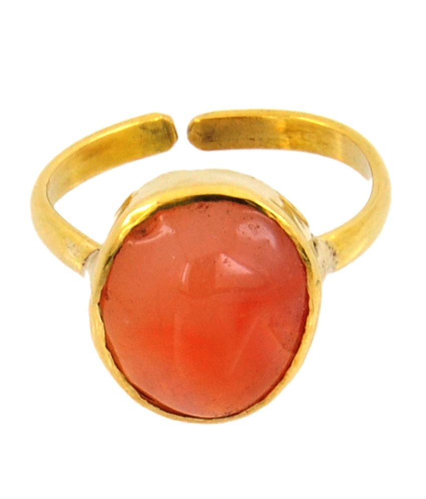 Avaatar 6.25 Ratti Agate Haqiq Gemstone Astrological Panchdhatu Ring