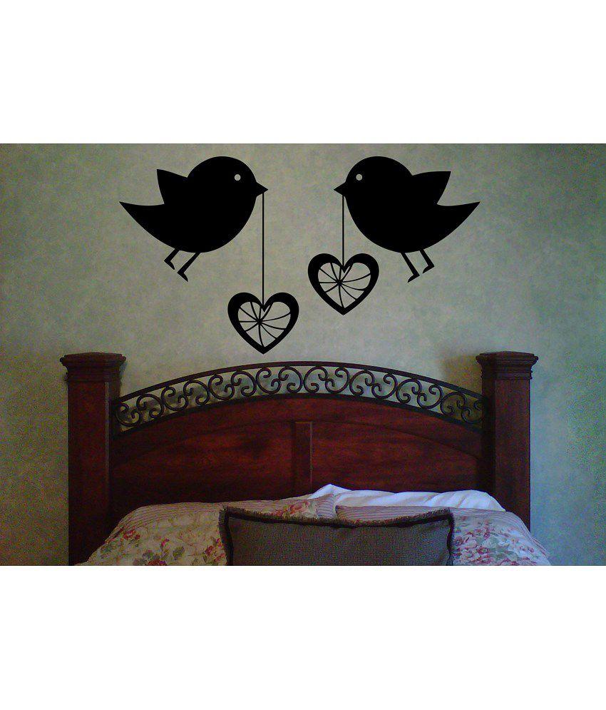 Decor kafe love birds wall decal buy decor kafe love for Decor to adore