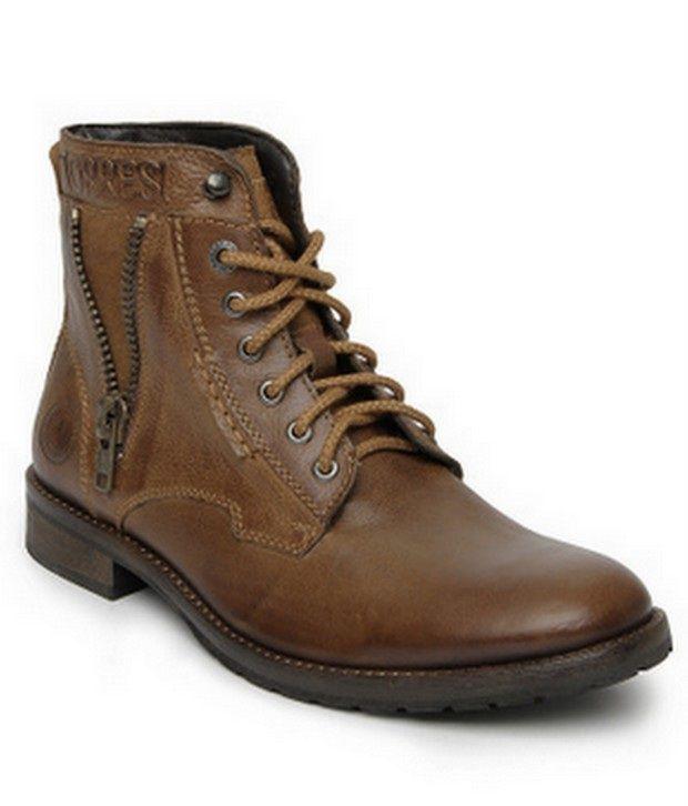 Alberto Torresi Tan Leather Designer Men Boots