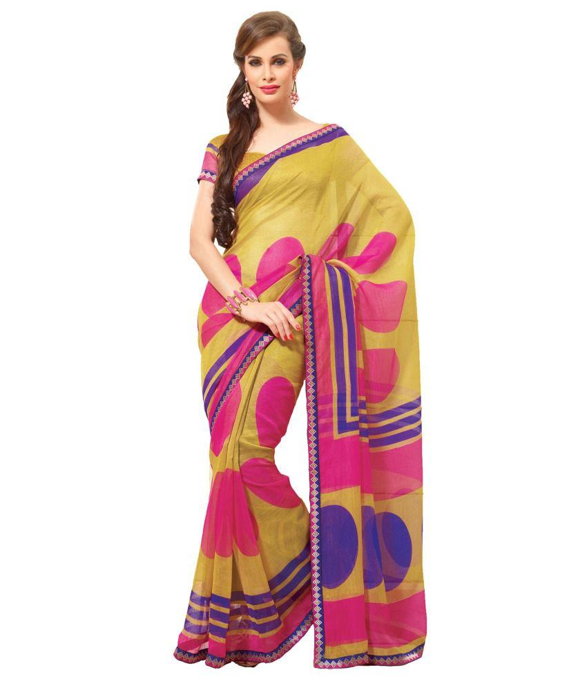 8f302bce3 Atisundar Multicoloured Net Saree - Buy Atisundar Multicoloured Net Saree  Online at Low Price - Snapdeal.com