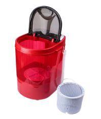 DMR 3 Kg DMR 30-1208 Semi Automatic Top Load Washing Machine Red