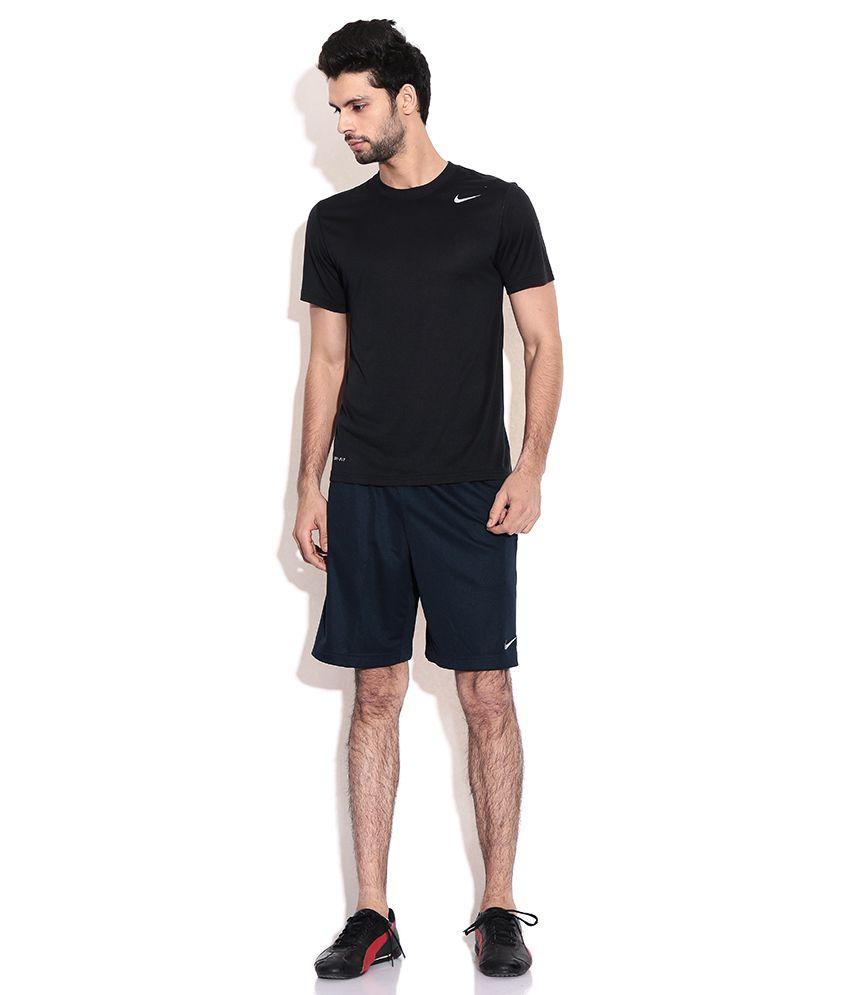 d8bf11bdf385 Nike Black Polyester Shorts - Buy Nike Black Polyester Shorts Online ...