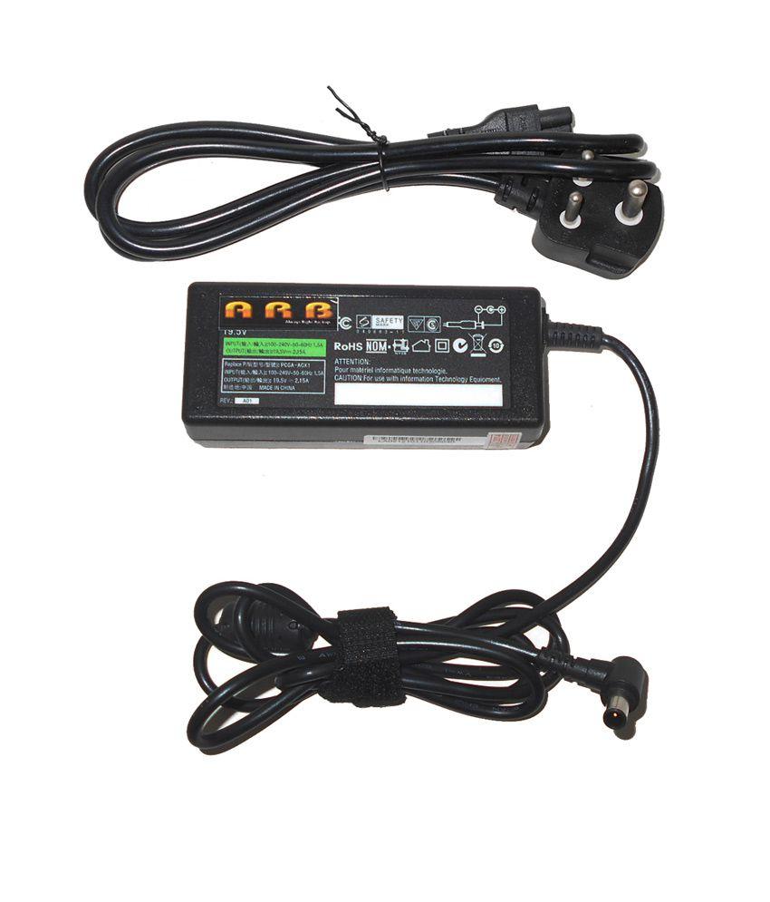 Arb Laptop Adapter For Sony Vpcw12s1r/w Vpcw12z1r/p 19.5v 2.1a 40w
