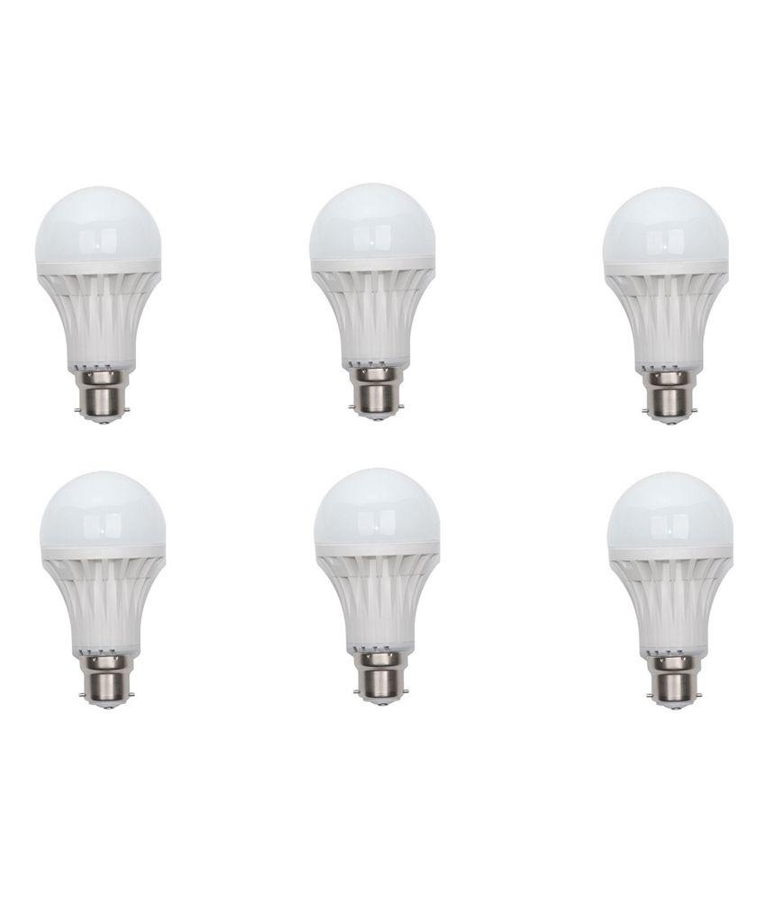 Bio Light 7 Watt Led Bulb - Pack Of 6