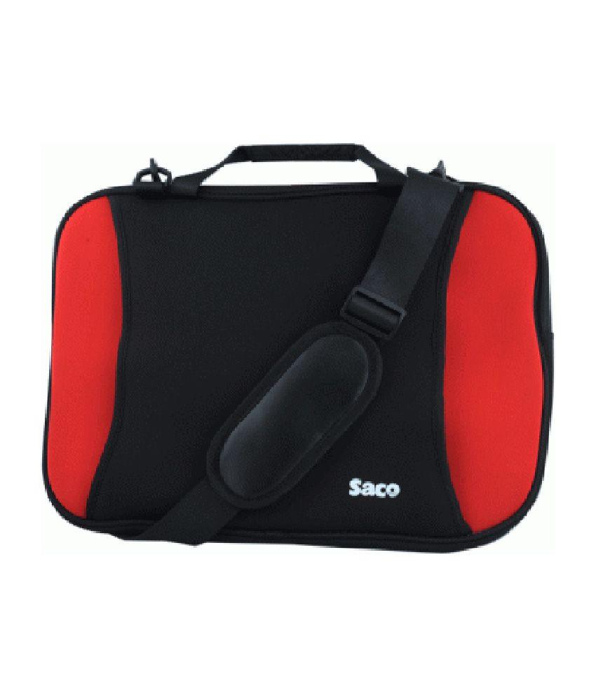 Saco Shock Proof Slim Laptop Bag For Sony Vaio Sve1513cynb Laptop - 15.6 Inch