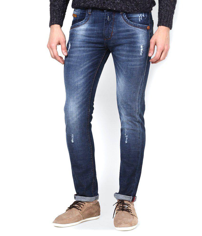 Code 61 Slim Fit Vintage Washed Jeans