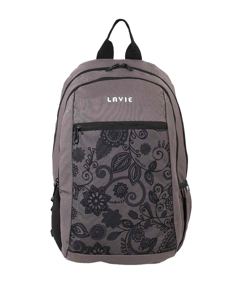 9e92d1a68 Lavie Grey Men Backpacks - Buy Lavie Grey Men Backpacks Online at Best  Prices in India on Snapdeal