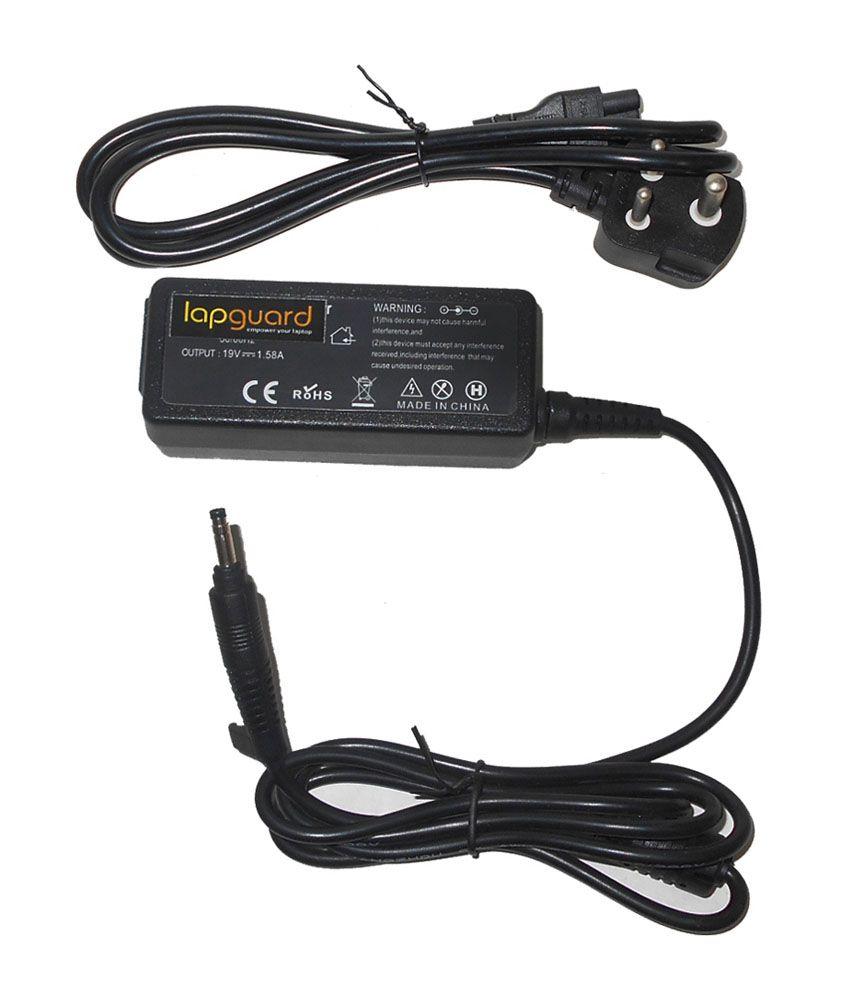 Lapguard Laptop Charger For Hp Mini 110-1126nr 110-1127la 19v 1.58a 30w Connector