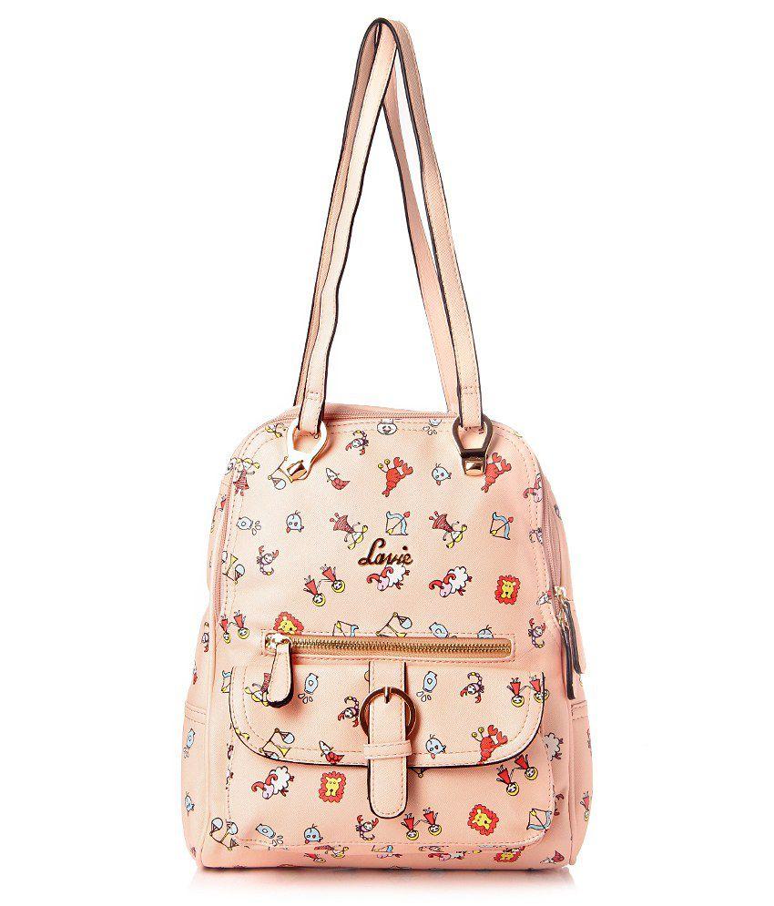 Lavie L05611107020 Beige Backpacks No
