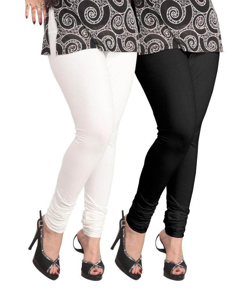 Lux Lyra Multi Color Cotton Womenu0026#39;s Leggings Price in India - Buy Lux Lyra Multi Color Cotton ...