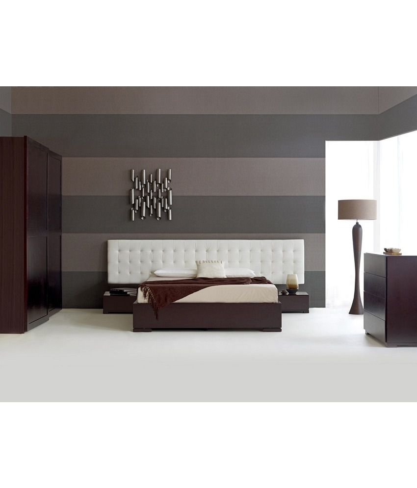 Low Height Bed With Side Tables Buy Low Height Bed With