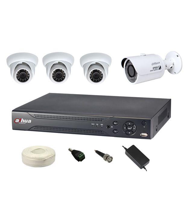 Dahua Dahua 4 Channel CCTV Kit CCTV Camera Price in India ...