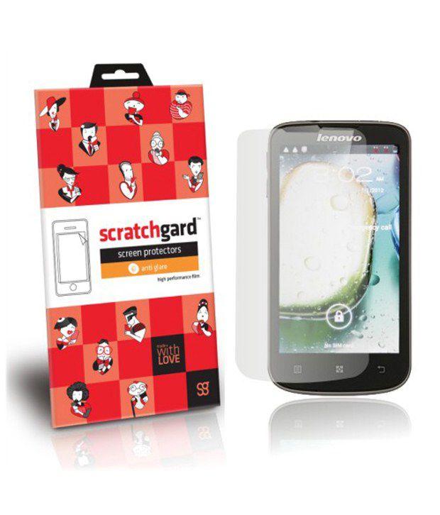 Scratchgard Hd Anti Glare Screen Protector For Lenovo A800