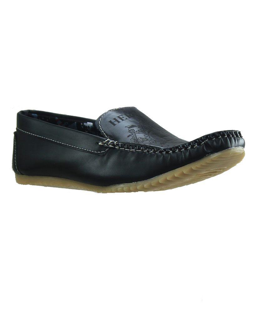 Dziner Black Loafers