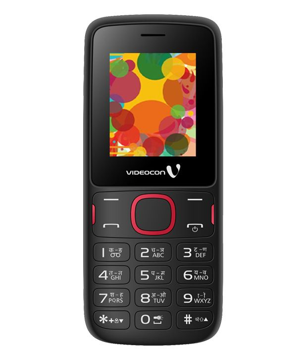 Videocon V1393 (Black and Red) Mobile Phones Online at Low ...