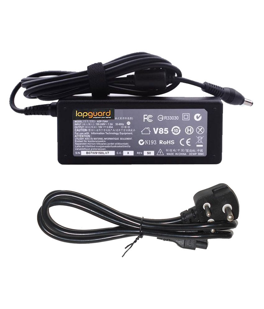 Lapguard Laptop Charger For Toshiba Satellite A10-s129 A10-s1291 A10-s132 19v 3.95a 75w Connector