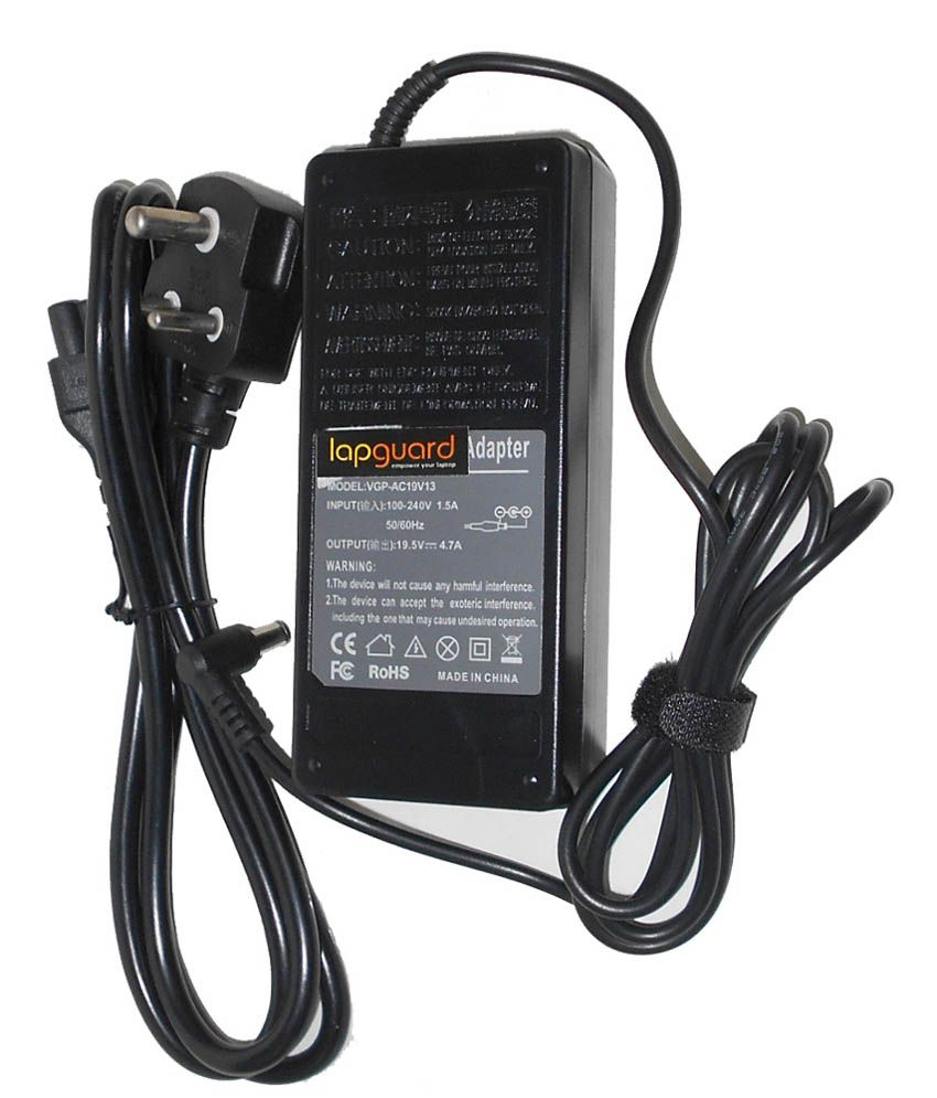 Lapguard Laptop Charger For Toshiba Satellite Pro C660-2n8 C660-2n9 19v 4.74a 90w Connector Pin : 5.5 X 2.5 Mm With 1Year Warranty