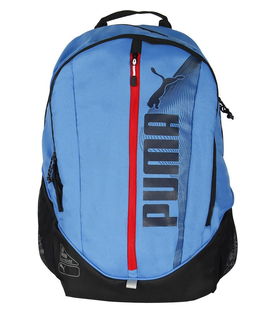 5bb882c5df Puma Deck Blue Backpack - Buy Puma Deck Blue Backpack Online at Low Price -  Snapdeal