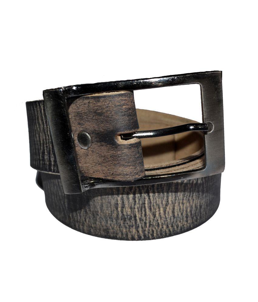 Cuero Black Colour Genuine Leather Belt (lbe-41)