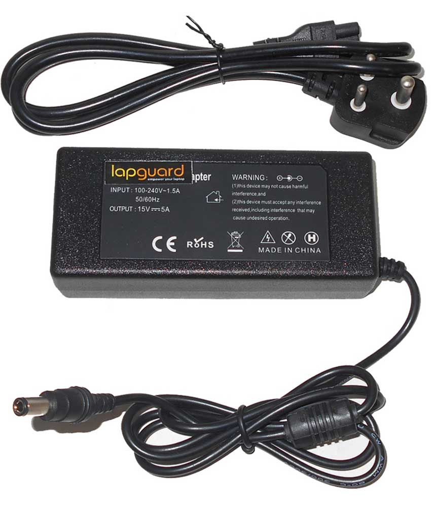 Lapguard Laptop Adapter For Toshiba Satellite M45-s3553 M45-s359, 19v 3.95a 75w Connector
