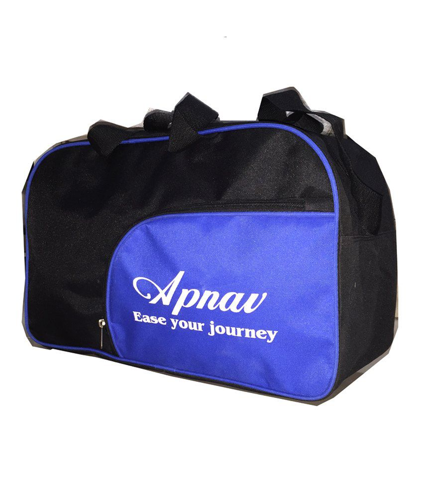 Apnav Black-blue gear Gym Bag