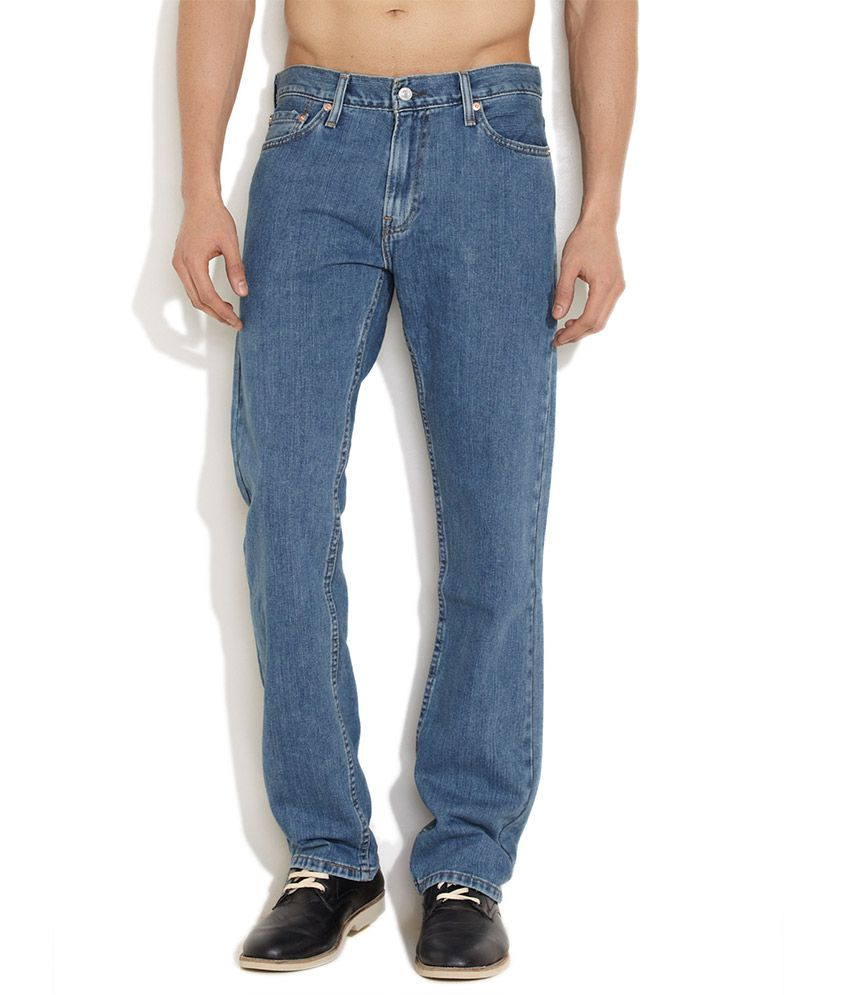Levi's Dark Blue Every Man's Straight Fit Jeans