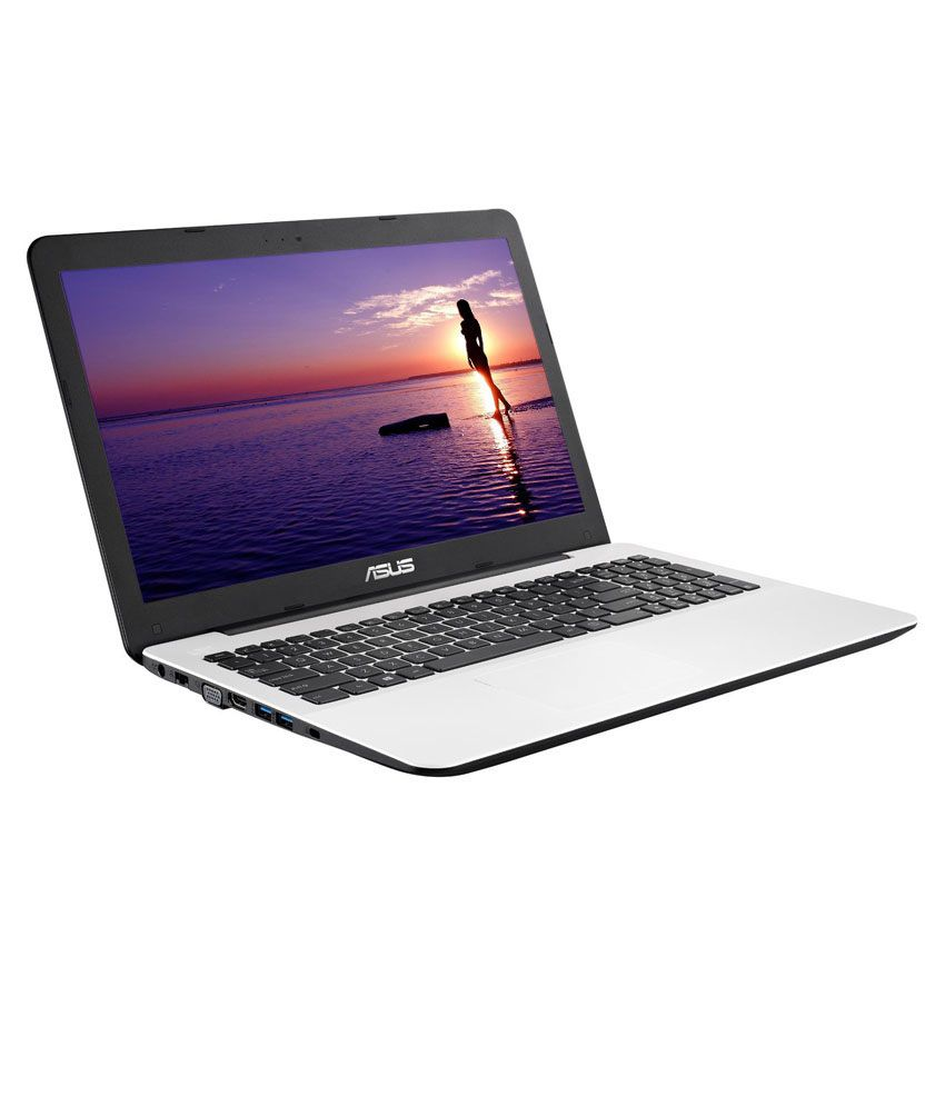 Asus X555LA Laptop (X555LA-XX252D) (4th Gen Intel Core i3- 4GB RAM- 500GB HDD- 39.62cm (15.6)- DOS) (White)