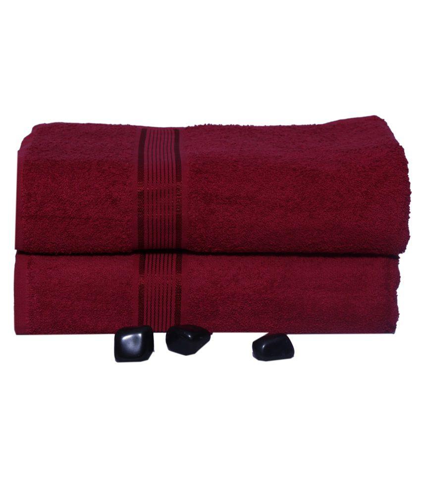 Shower Towel Broke: Eurospa Set Of 2 Cotton Bath Towel