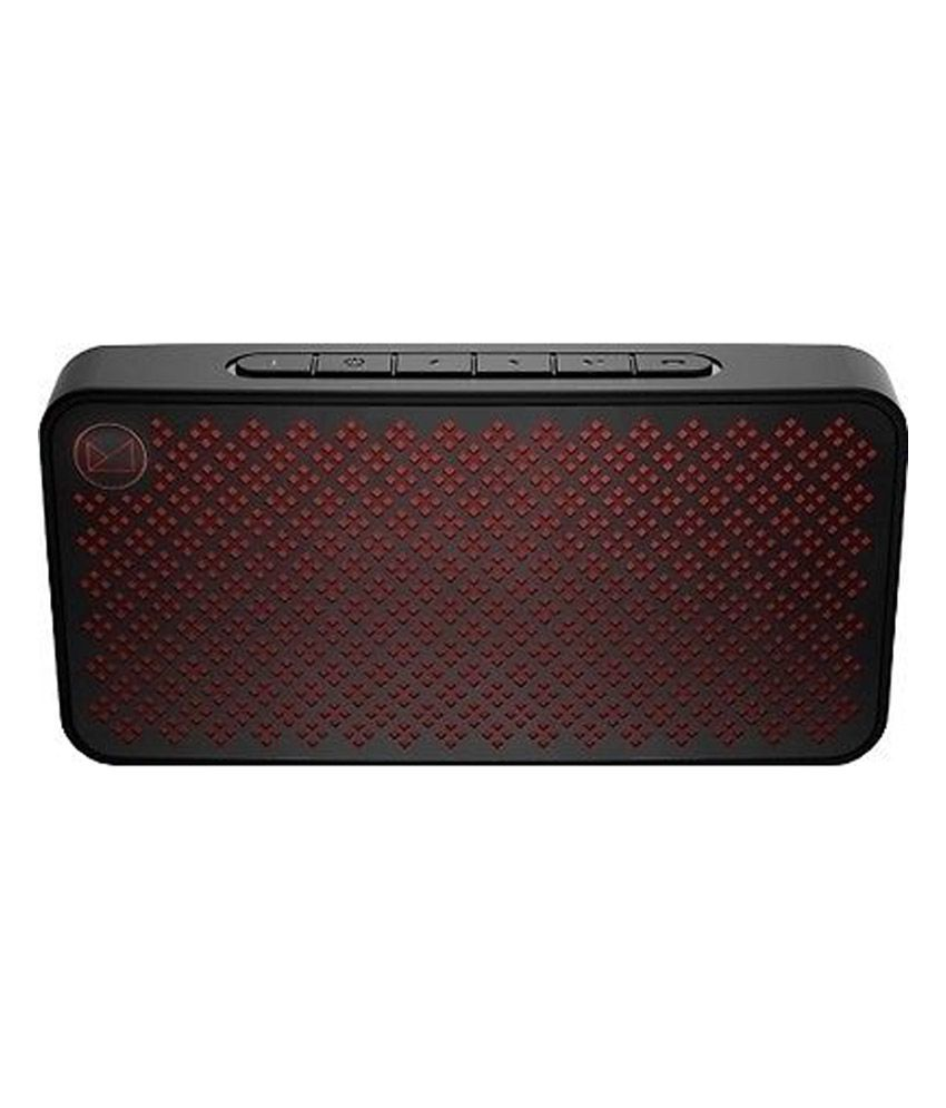 f d w30 black slim portable bluetooth speaker buy f d
