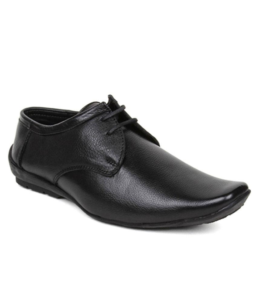 Kosher Black Formal Shoes