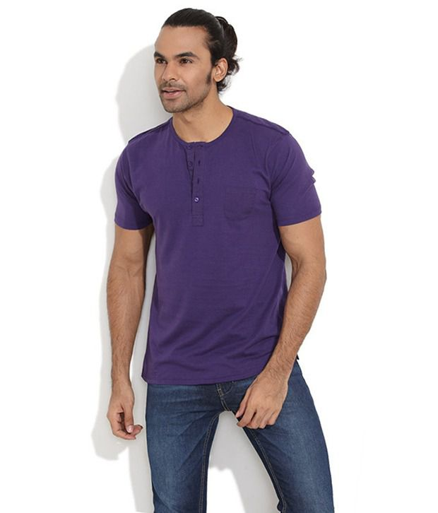 FREECULTR PURPLE CASUAL EVERYDAY T-SHIRT