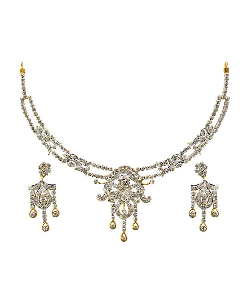 Kataria Jewellers Contemporary Diamond Set With Hallmarked Gold And Real Certified Diamonds