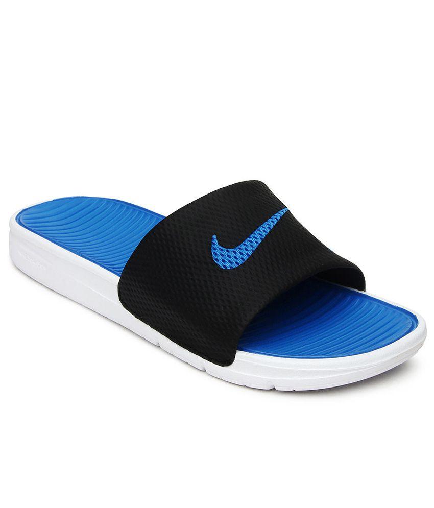 df52de934f68f5 Nike Benassi Solarsoft Slide Black Price in India- Buy Nike Benassi Solarsoft  Slide Black Online at Snapdeal