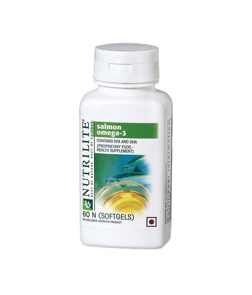 Amway Nutrilite Salmon Omega -3 (60N Softgels): Buy Amway Nutrilite Salmon Omega -3 (60N ...
