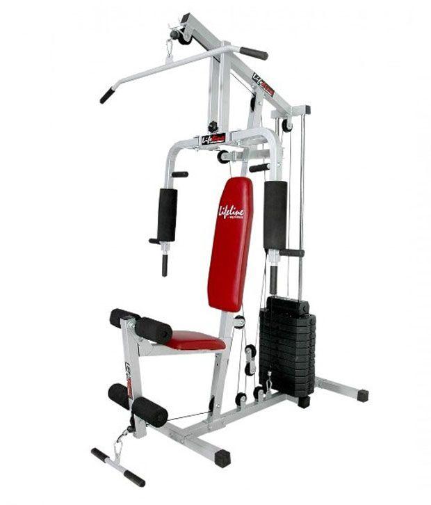 Gym Equipment Kolkata: Lifeline Single Station Multi Home Gym: Buy Online At Best