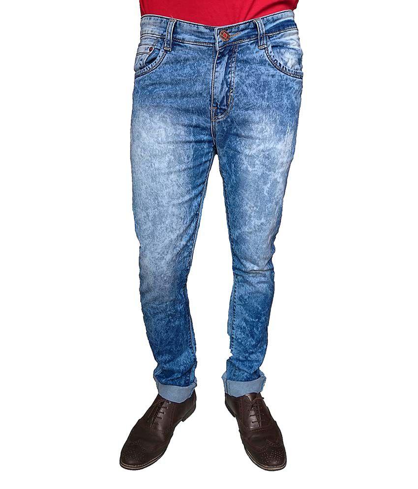 Oiin Men's Slim Fit Jeans
