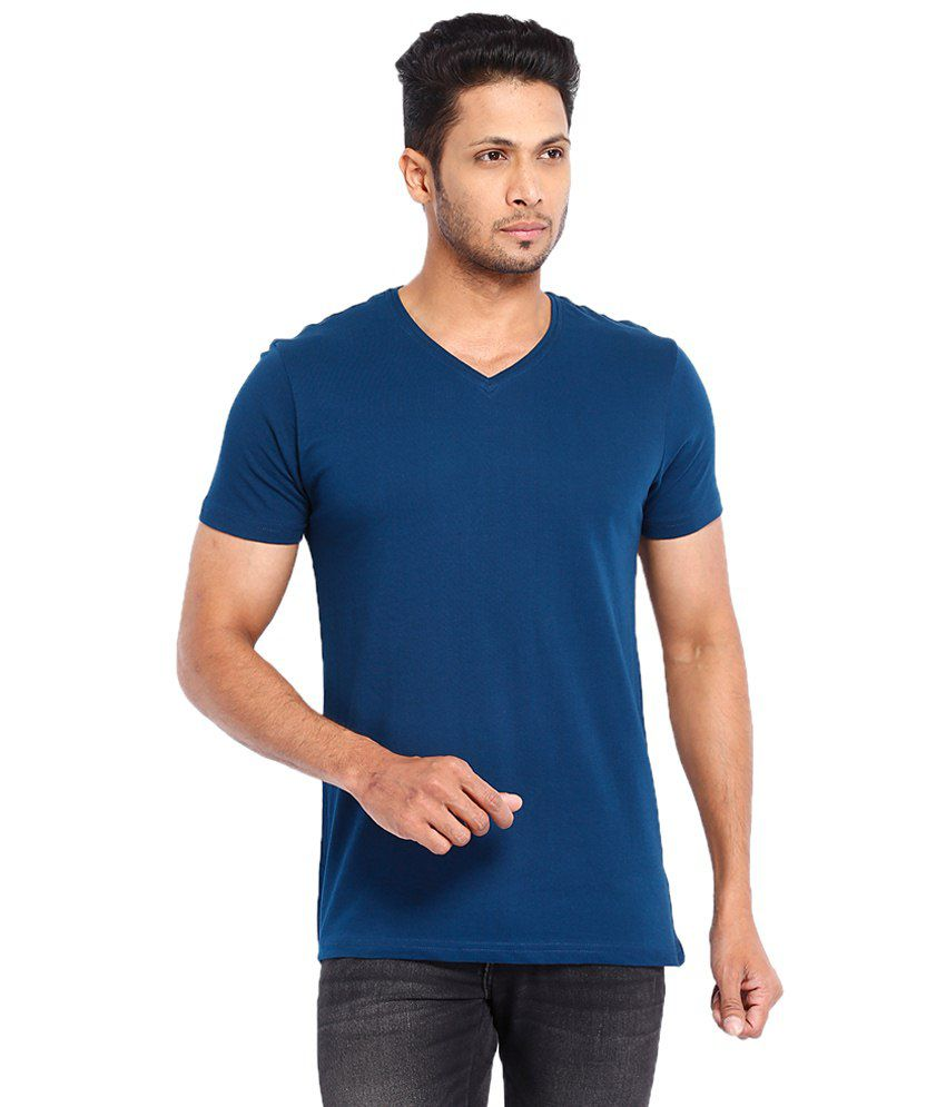 Highlander Blue Cotton T shirt
