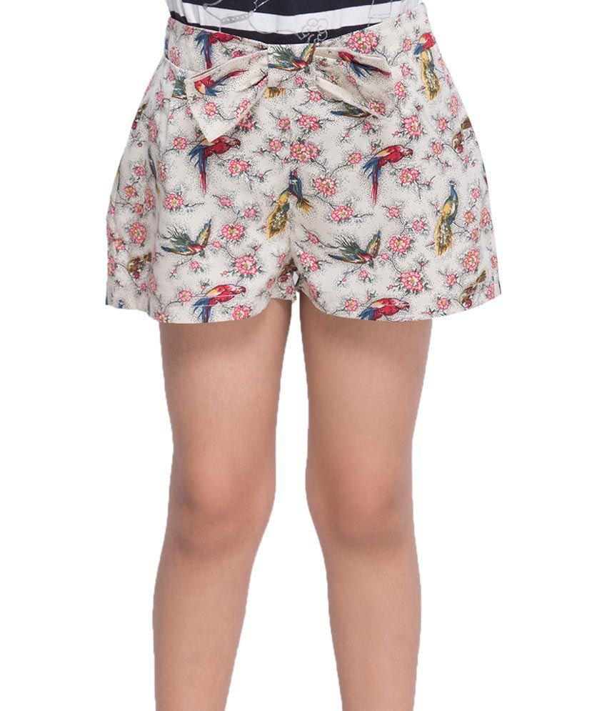 Oxolloxo Multi Color Printed Shorts