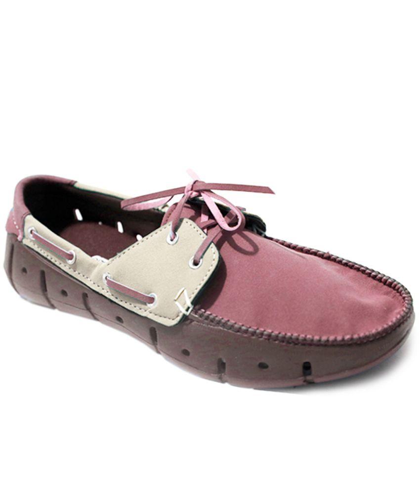 Grey Dock Shoes Mens